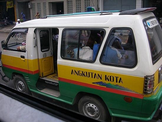 Rute/Trayek Angkot dan Trans Metro Bandung di Bandung